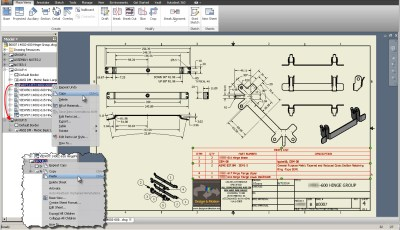 Autodesk Inventor: Copy Items Between Sheets Easily