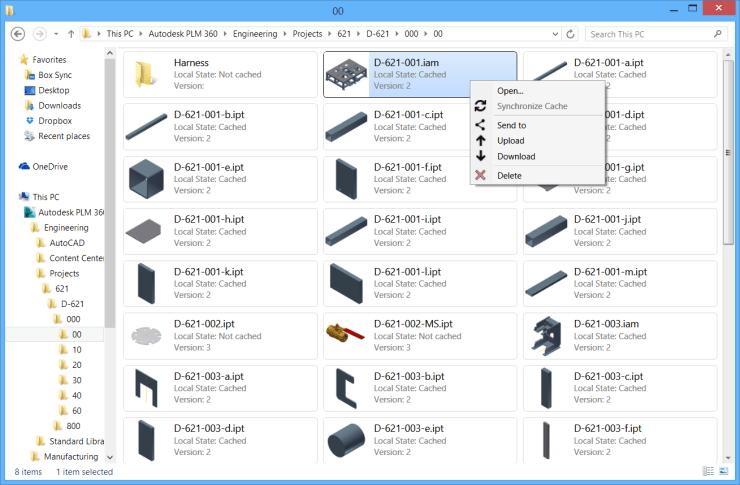 Autodesk PLM 360 CAD Integration