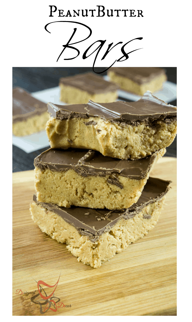 PeanutButter Bars-Hollywood Squares