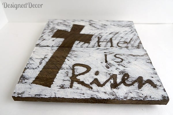 He is Risen Plaque 2