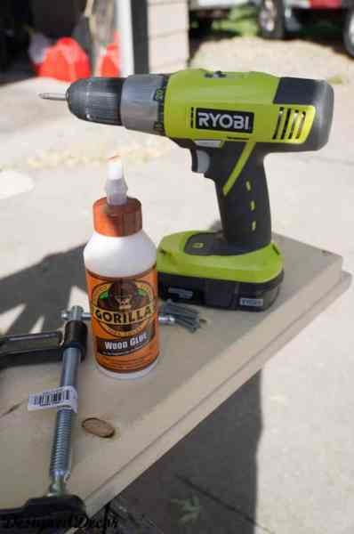 tools needed to build a Mantle Shelf