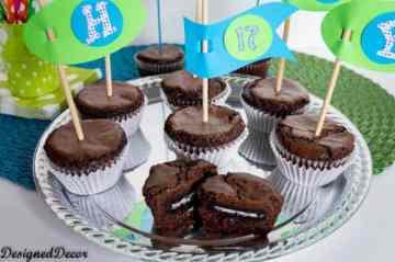 Oreo Brownie Cupcakes-7