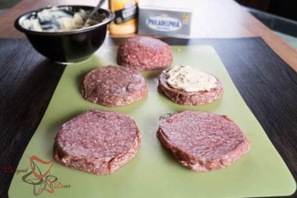 #SayCheeseburger~ Cream Cheese Stuffed Cheeseburger~ #CollectiveBias- #shop