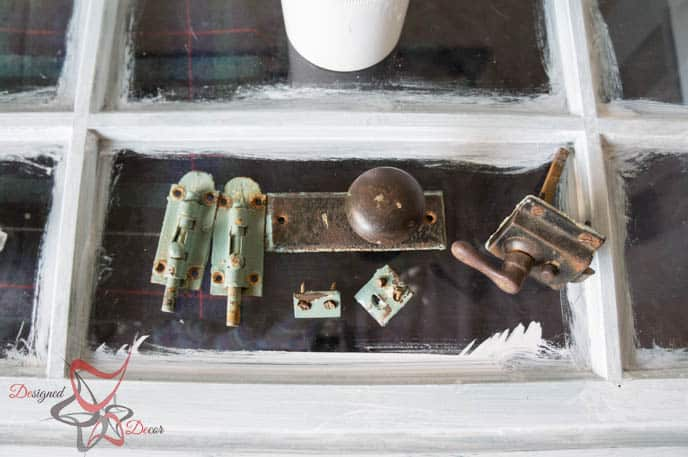 Painted Old French Doors-Pixie Dust Paint Company-How to remove paint from hardware