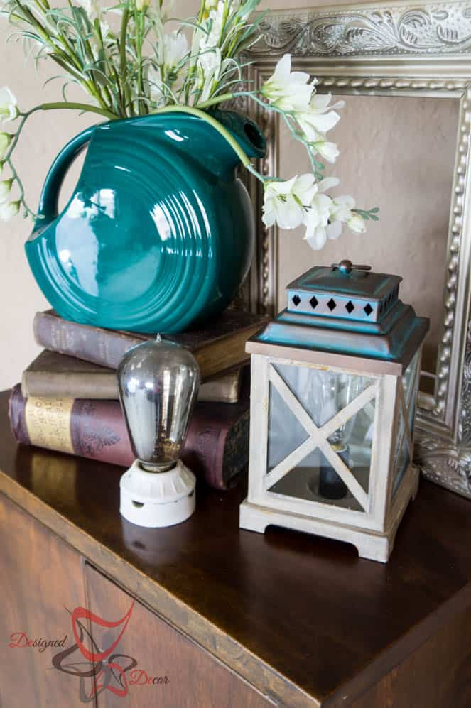 How to Style a Vignette- ScentSationals-Edison Warmer-#WicklessWonders -#CollectiveBias- #ad-