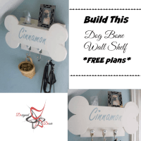 Dog Bone Wall Shelf!