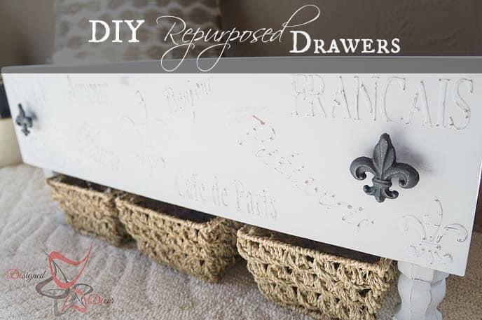 Storage Drawers-DIY- Repurposed