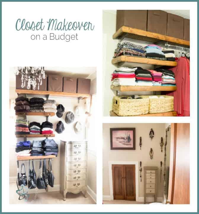 Closet Makeover on a Budget!