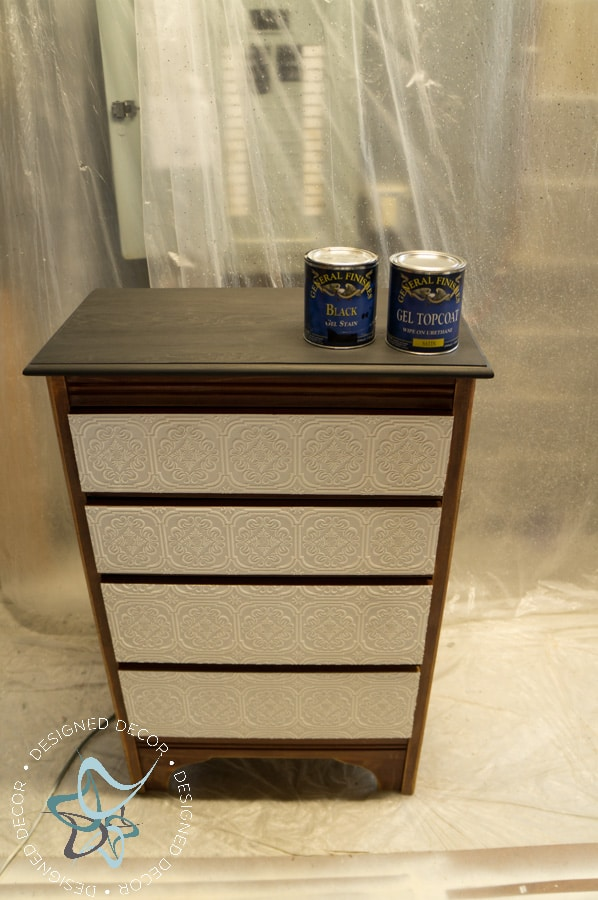 Textured-WallPaper-Dresser- GeneralFinishes- #Sponsor-Painted Furniture (7 of 20)