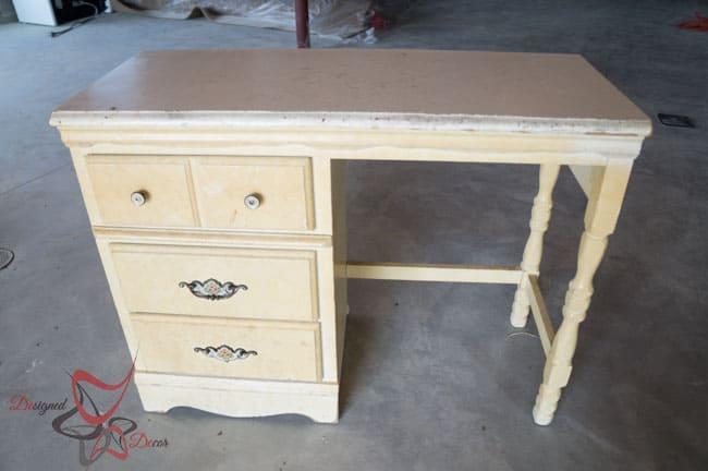 Desk Makeover-Before