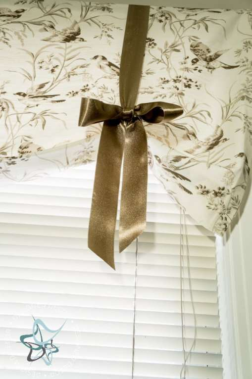 Lessons Learned ~ Spray Painted Blinds!