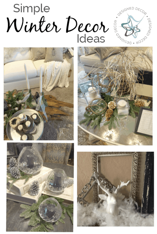 Simple Winter Decorating Ideas!