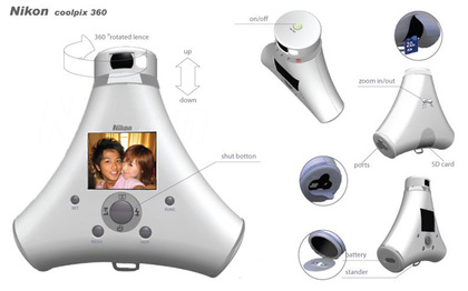 nikon coolpix 360 concept