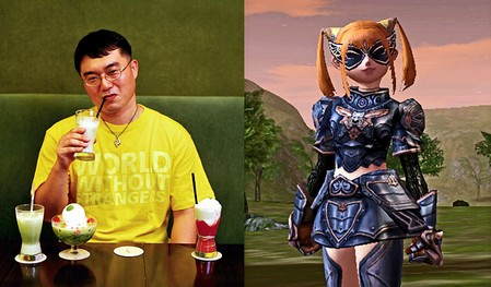 portraits in real and virtual life