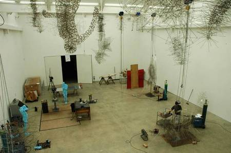 anthony gormley studio