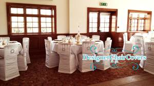 rouched chair covers