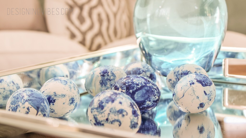 diy indigo eggs