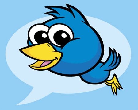 Create a Vector Art Twitter Bird Character Icon