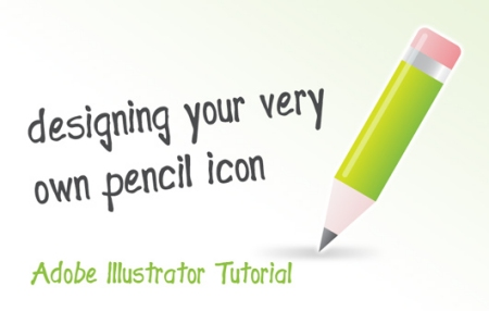 Designing a Sleek Pencil Icon