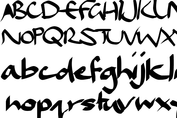 calligraphy dael fonts ffont open source
