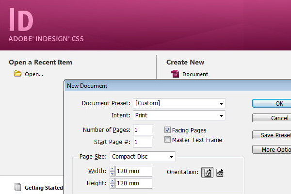 how to use indesign cs5 templates basics
