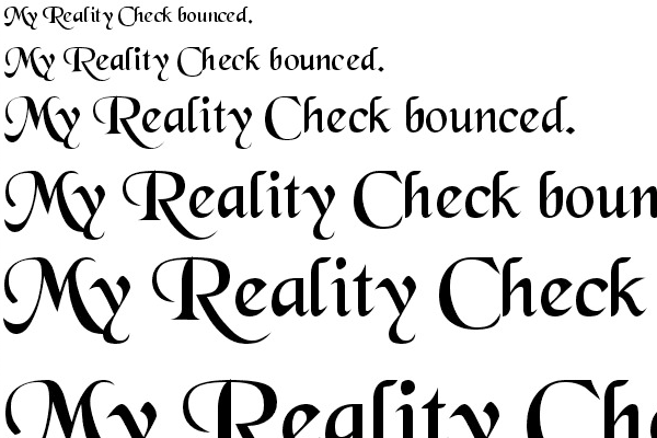 open source font free black chancery