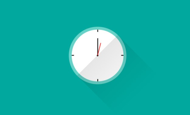 animated clock interface ui css open source