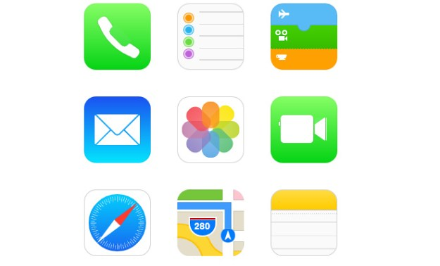 ios7 icons css pure open source