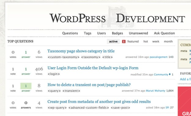 wordpress stack exchange wp questions answers