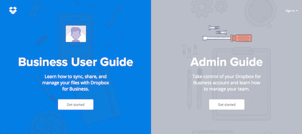 Dropbox Guidelines