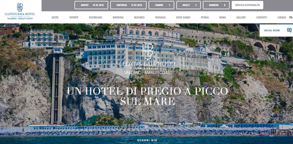 Lloyds Baia Hotel