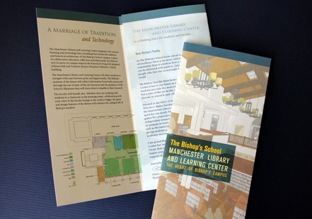 The Bishop's School library brochure
