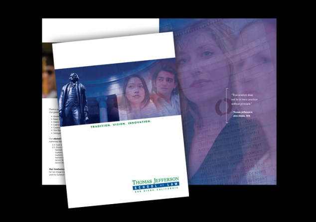 Thomas Jefferson School of Law Career brochure