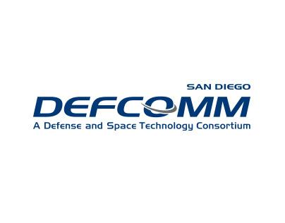image of defcomm logo