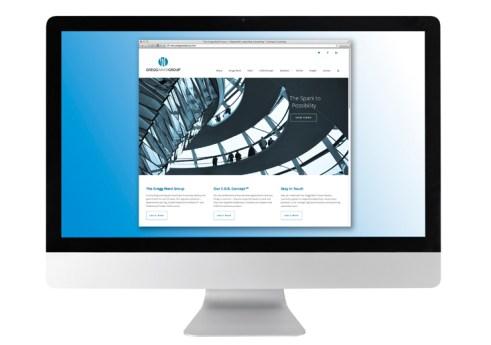 image of Gregg Ward Group website design elements