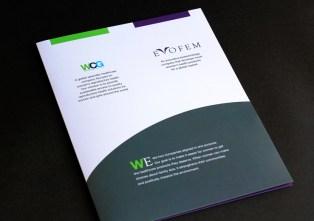 image of WomanCare Global and Evofem folder