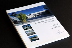 image of The Neurosciences Institute Scientific Report and Catalog