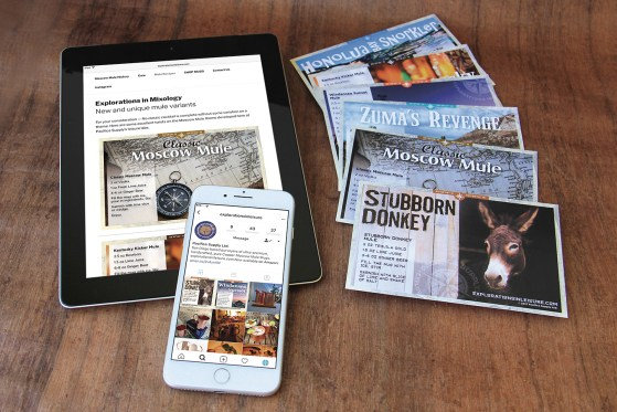 explorations in leisure mule recipe cards