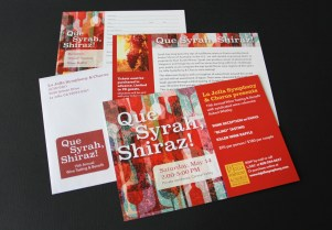 la jolla symphony and chorus wine postcard