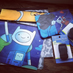 repurposed comic-con bags