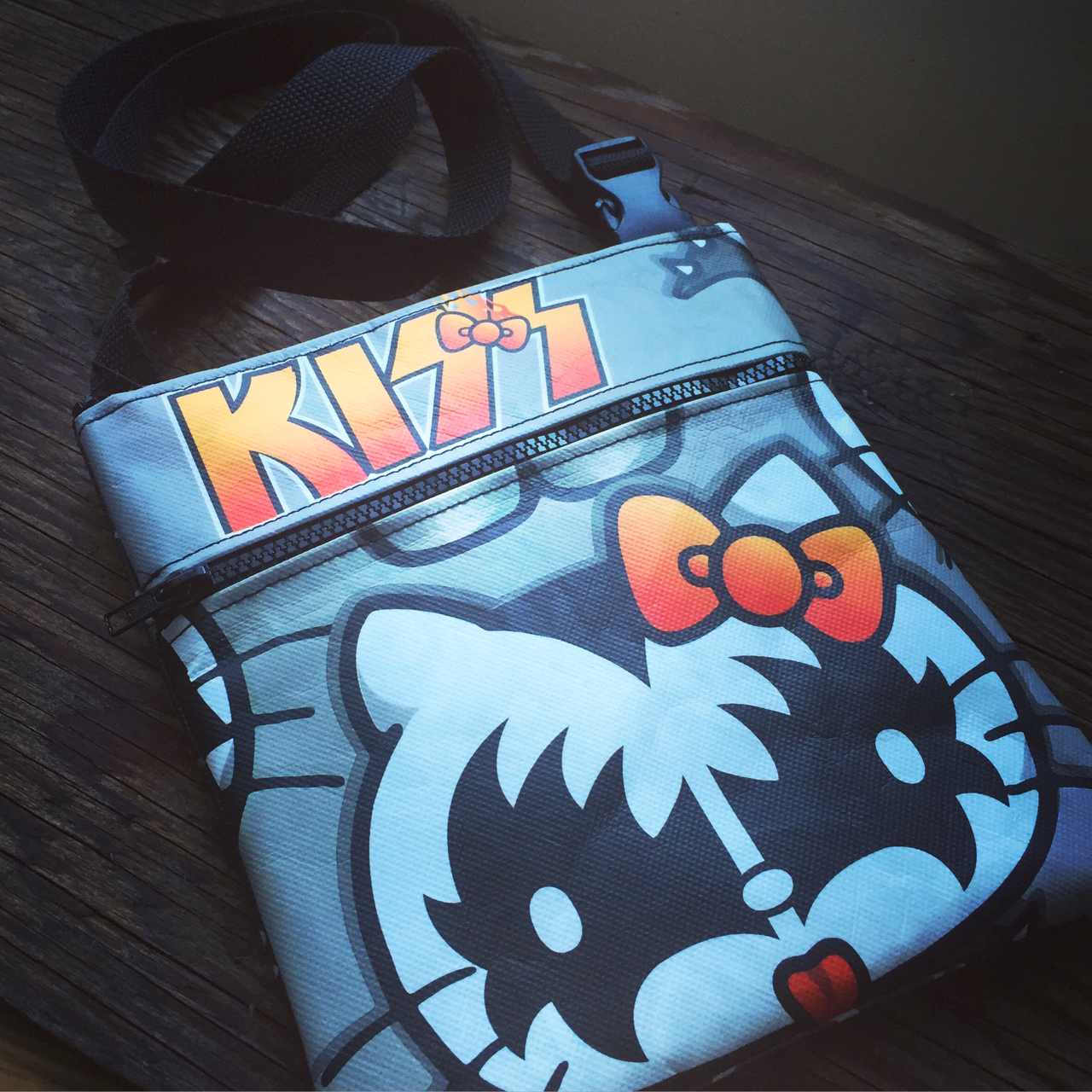 repurposed comic-con bag