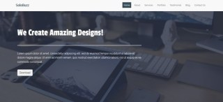 Solobuzz free business bootstrap template