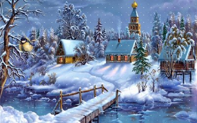 30 + Best Collection Of Winter Wallpapers