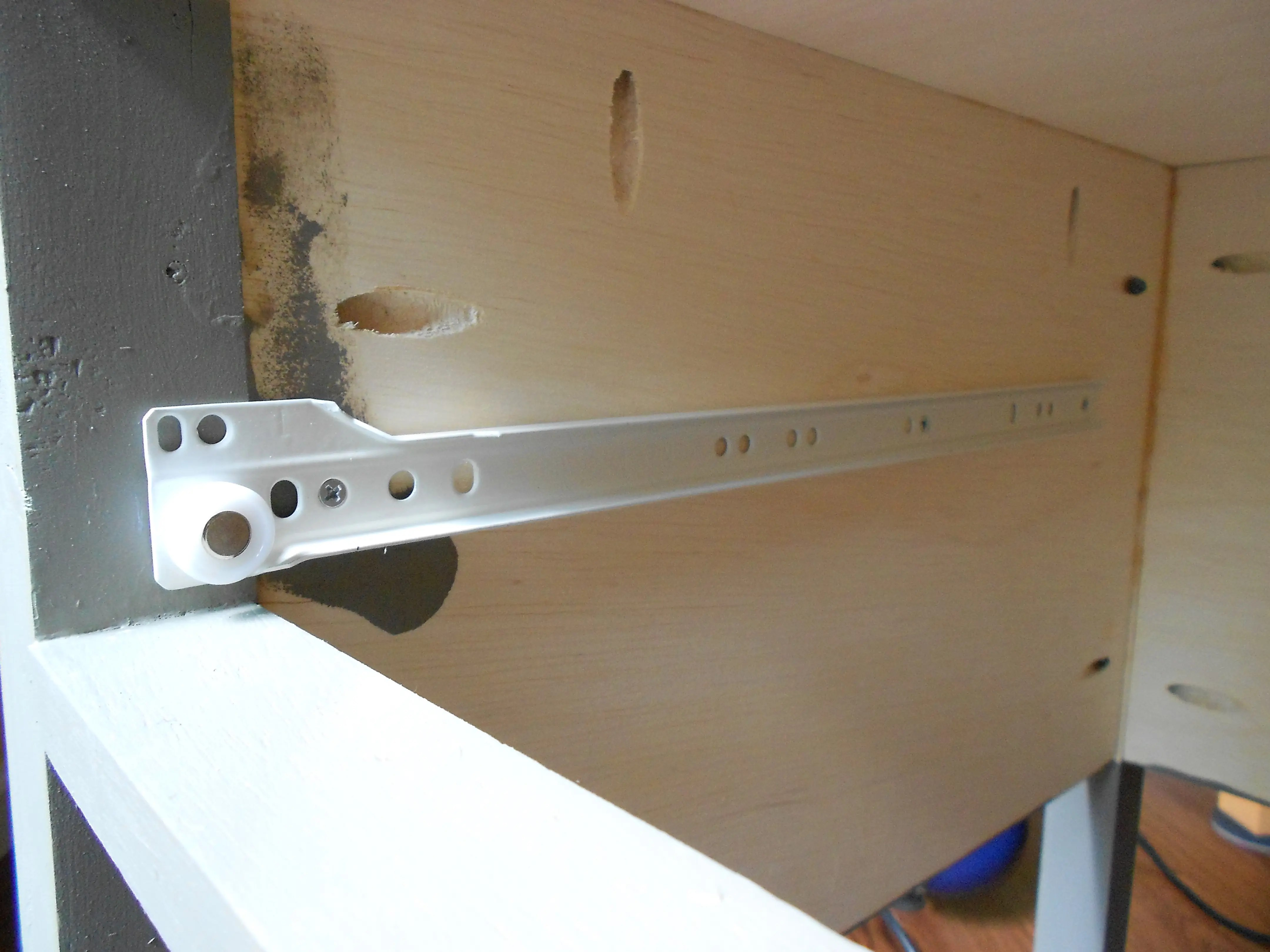 How To Install Kitchen Cabinet Drawer Slides How To Install Drawer Slides Build Basic How To