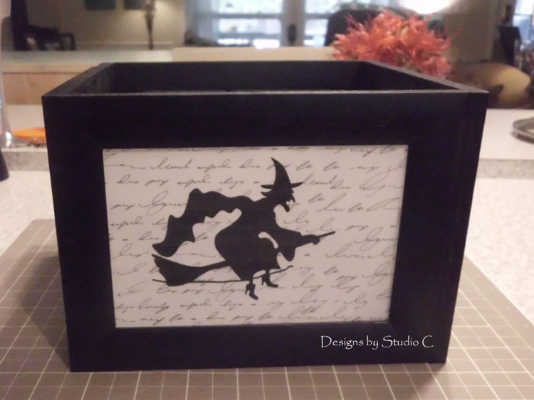 How to Make a Spooky Witch Lantern SANY1415