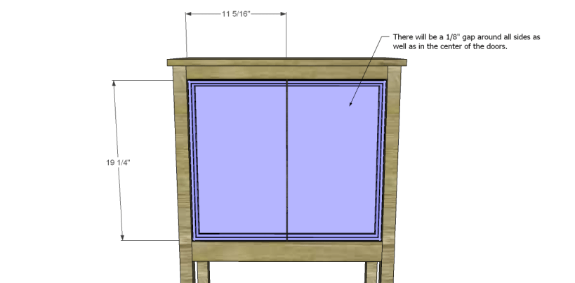 Free Plans to Build a Pier One Inspired Rivet Cabinet_Doors 2