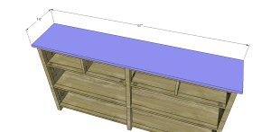 Plans to Build a Slim Sideboard 7