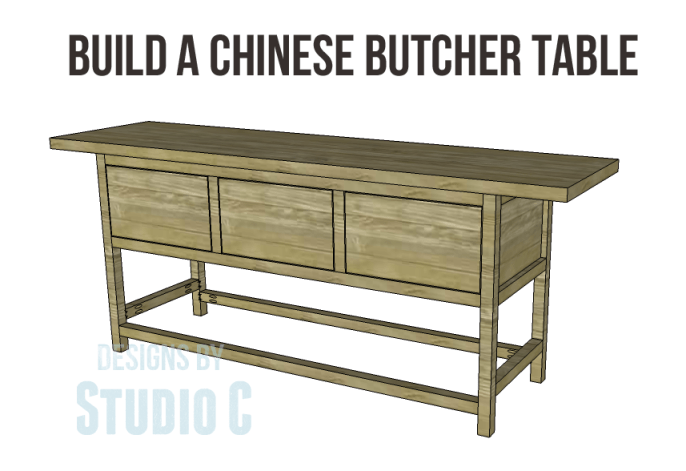 free plans to build a wisteria inspired chinese butcher table_Copy