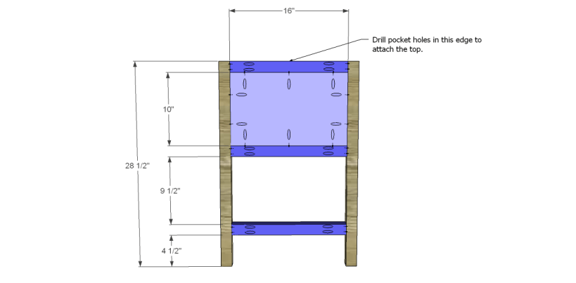 free plans to build a wisteria inspired chinese butcher table_Sides