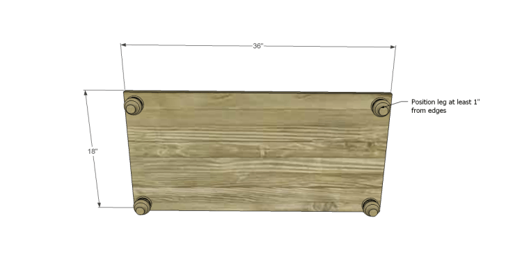 Free Plans to Build a Pier One Inspired Ashworth 5-Drawer Dresser_Bottom